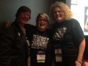 Margo Rudder, Carroll ISD; Jennifer LaGarde, Library Girl; @janhodgelibrary