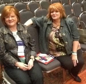 Sharon Gullett & Marsha Edney, #txlchat gurus
