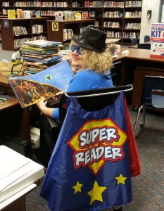 SuperHero Librarian Jan
