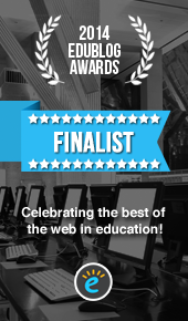 Edublog Award Best New Blog Finalist 2014
